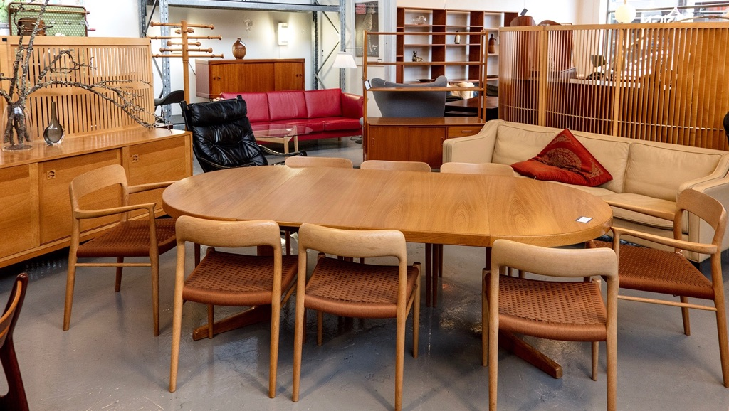 20th Century Scandinavia Mid Century Danish Vintage Furniture 2