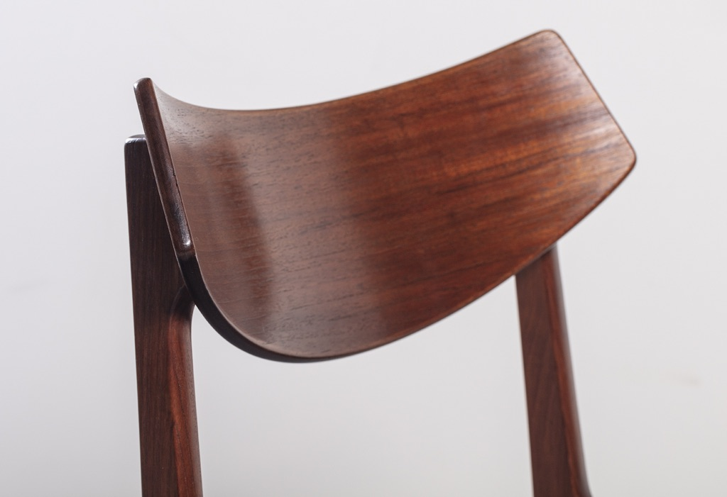 Danish 1960 S Funder Schmidt Amp Madsen Teak Dining Chairs