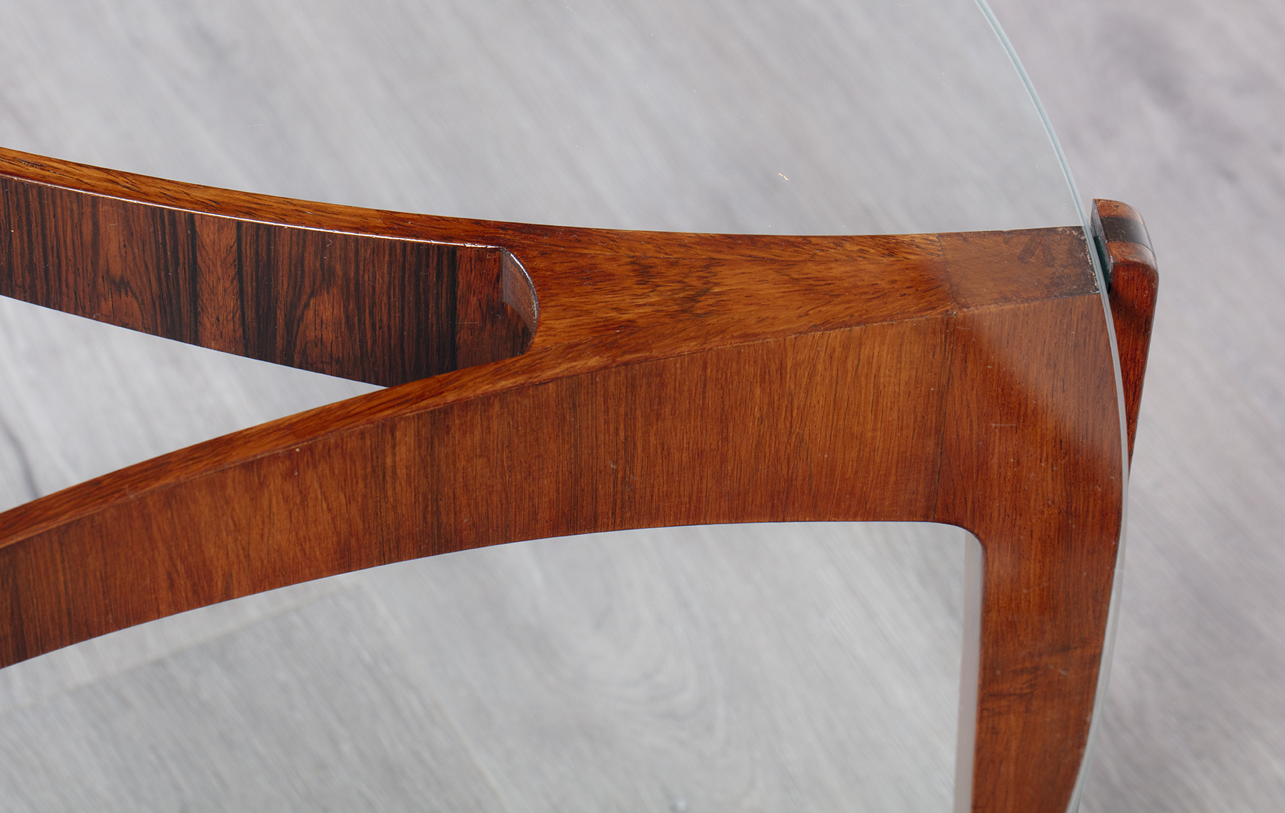 Danish 1960 S Brazilian Rosewood Coffee Table By Sven