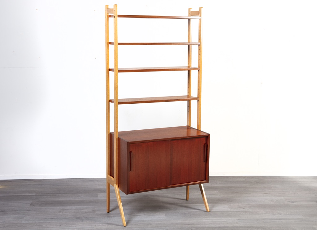 Enquiring about Danish 1960's Teak & Oak Bookshelf