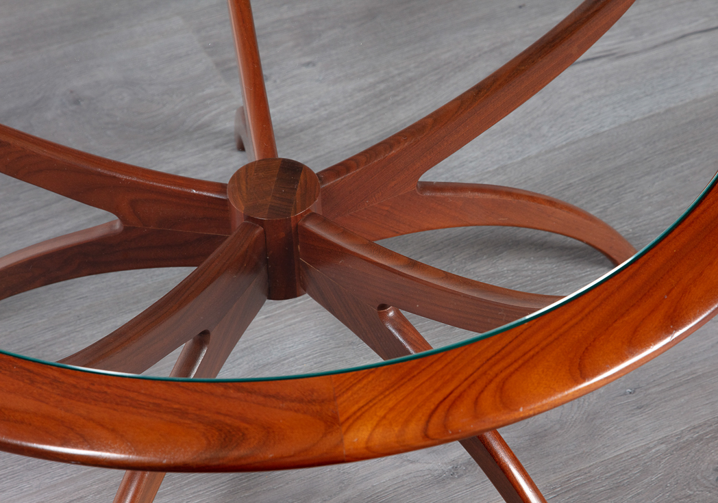 English 1960's Teak Coffee Table – 20th Century Scandinavia