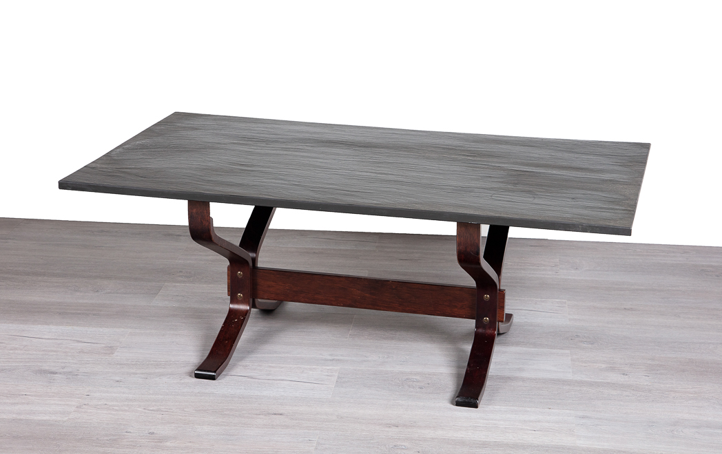 Enquiring about Norwegian 1960's Slate Top Coffee Table
