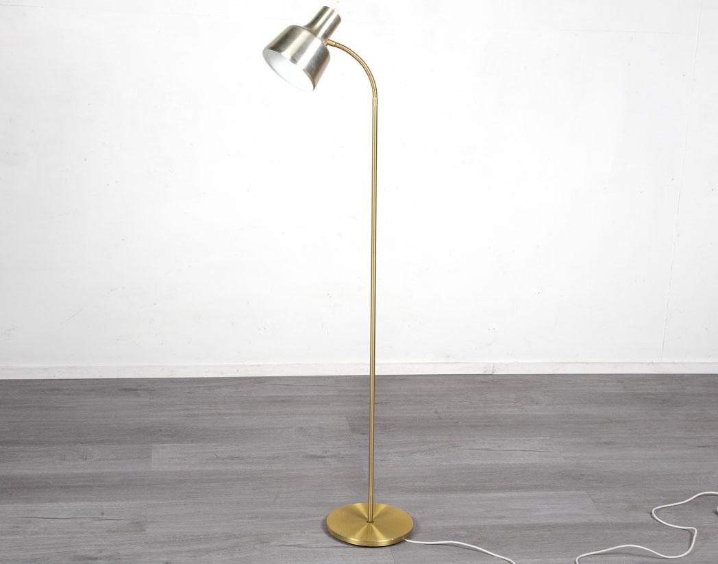 Enquiring about Danish 1960's Brass Floor Lamp