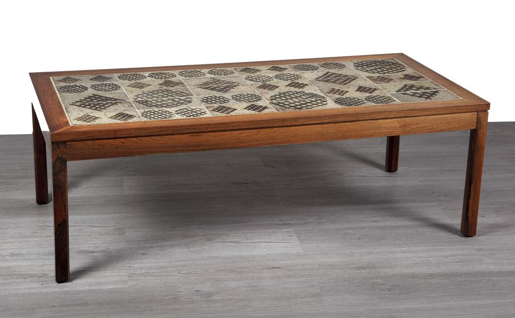 Enquiring about Danish 1960's Designer Tiled Top Coffee Table
