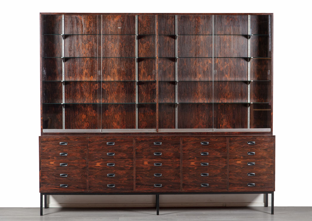 Enquiring about Danish 1960's Large Brazilian Rosewood Display Cabinet