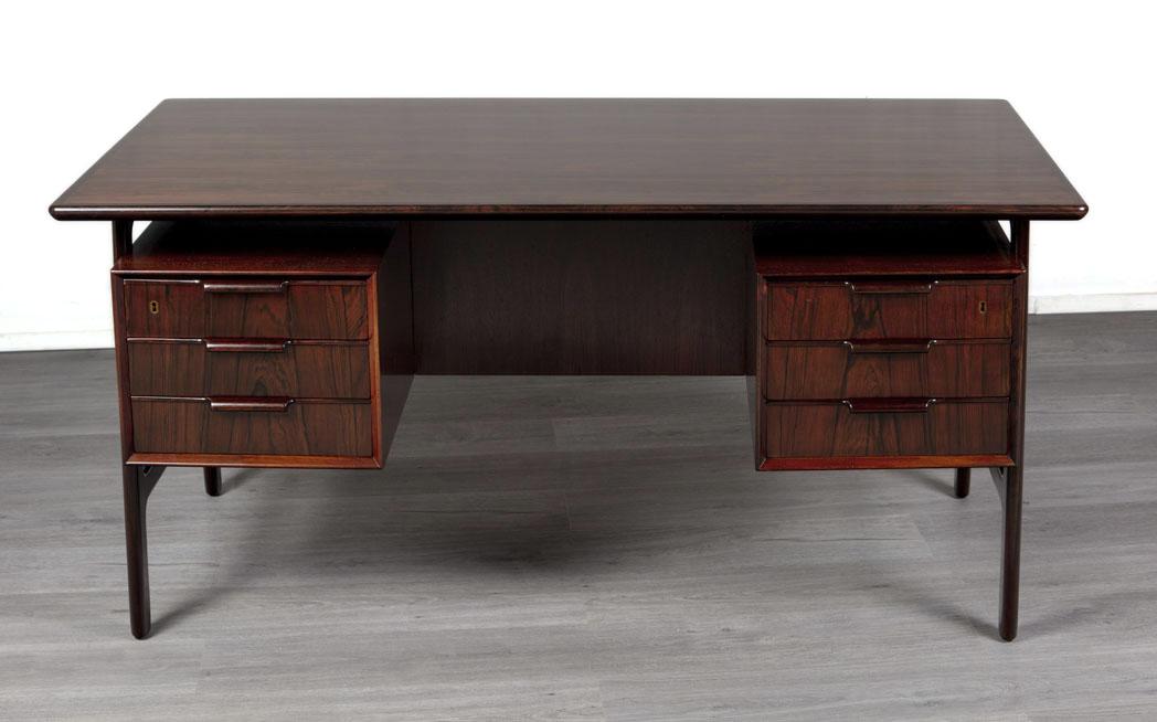 Enquiring about Danish 1960's Rosewood Desk by Omann Jun